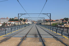 Don Luis Bridge in Porto Royalty Free Stock Photo