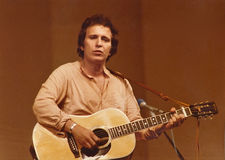 Don McLean Imágenes de archivo libres de regalías