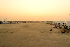 Don Muang Airport in morning Royalty Free Stock Image