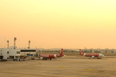 Don Muang Airport in morning Stock Images