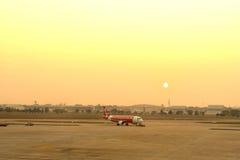 Don Muang Airport in ochtend Stock Afbeeldingen