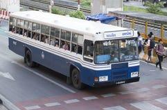 Don Muang Airport to New Bridge  bus Stock Photo