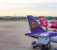 Don Muang internationell flygplats, Bangkok, Thailand 2 Royaltyfri Fotografi