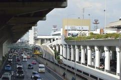 Don Muang lotniska przodu Uliczny widok w Thailand Zdjęcia Stock
