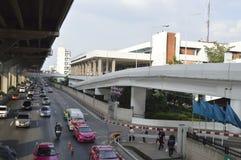 Don Muang lotniska przodu Uliczny widok w Thailand Obraz Royalty Free