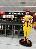 Fast food. Don Mueang International Airport, Bangkok, Thailand - May 8,2018 : McDonald& x27;s open store in Don Mueang Airport, Thailand. McDonald& x27;s is the Royalty Free Stock Photos