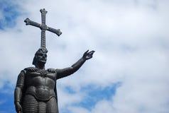 Don Pelayo Statue fotografie stock