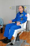 Don Pettit on Rotating Chair Stock Photos