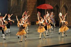 Don Quichotte ballet, principals Royalty Free Stock Image