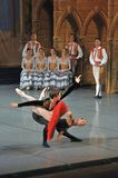 Don Quichotte ballet, principals variation Royalty Free Stock Photography