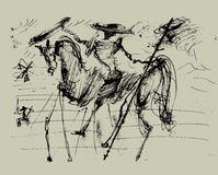 Don Quijote Fotos de archivo libres de regalías