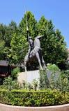 Don Quijote de la Mancha Arkivfoton