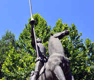 Don Quijote de la Mancha Stock Photography