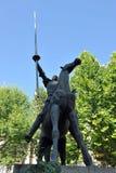 Don Quijote De Los angeles Mancha Obraz Stock