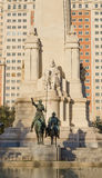 Don Quijote and Sancho sculpture Royalty Free Stock Image