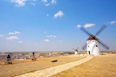 Don Quijote und Sancho Panza Statues Lizenzfreies Stockbild