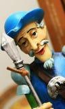 Don Quixote. A don Quixote figure portrait Stock Image