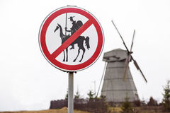 Don Quixote ban Stock Photos