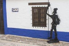 Don Quixote in Castilla La Mancha Royalty-vrije Stock Afbeeldingen