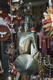 Don Quixote-Metallpuppe Lizenzfreies Stockfoto