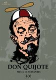 Don quixote poster with funny hat royalty free stock photos