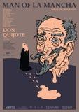 Don quixote poster man of la mancha stock images