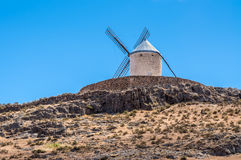 Don Quixote`s Windmill In Consuegra Spain Royalty Free Stock Image