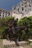 Don Quixote Statue Havana Cuba Imágenes de archivo libres de regalías