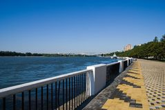 Don River Embankment Stock Photo