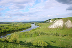 Don river near Voronezh city, Russia Stock Images
