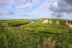 Don river near Voronezh city, Russia Royalty Free Stock Photography