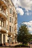 DON ROSJA, SIERPIEŃ, - 25, 2011: Południowy Federacyjny uniwersytet w Rostov zdjęcia stock
