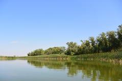 Don rzeka Zdjęcia Stock