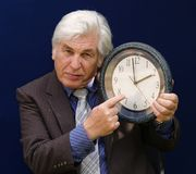 Don't be late Royalty Free Stock Image