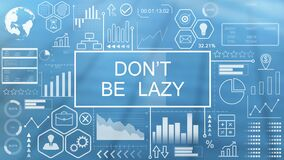 Don`t be lazy, animated typography