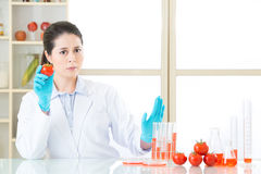 Don& x27; t-brukskemikalie för din mat som inte är sund Arkivfoton