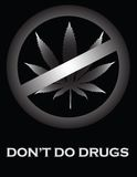 Don't Do Drugs! Royalty Free Stock Images