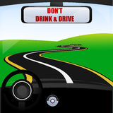 Don't drink and drive Stock Images