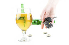 Don`t Drink And Drive Concept Stock Image