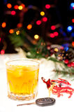 Don't drink and drive during festive season Royalty Free Stock Images