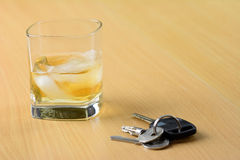 Don't drink and drive Royalty Free Stock Photos