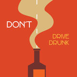 Don't drive drunk Royalty Free Stock Photo