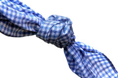 Don't forget!. Handkerchief knot as a reminding aid Royalty Free Stock Images