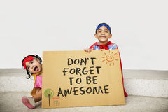 Don`t Forget to be Awesome Do Your Best Good Work Concept Royalty Free Stock Image