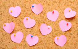 Don't forget Valentine's day! royalty free stock photos