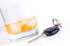 Don? t-Getränk und Laufwerk Lizenzfreies Stockfoto
