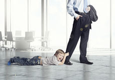 Free Don T Go Away Daddy Royalty Free Stock Photo - 67725605