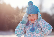 Don T Let The Cold Get You Down! Royalty Free Stock Images