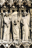 Don't lose your head. Cathedrale Notre Dame de Paris Royalty Free Stock Photography