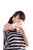 Don't mess with me! Stock Photos